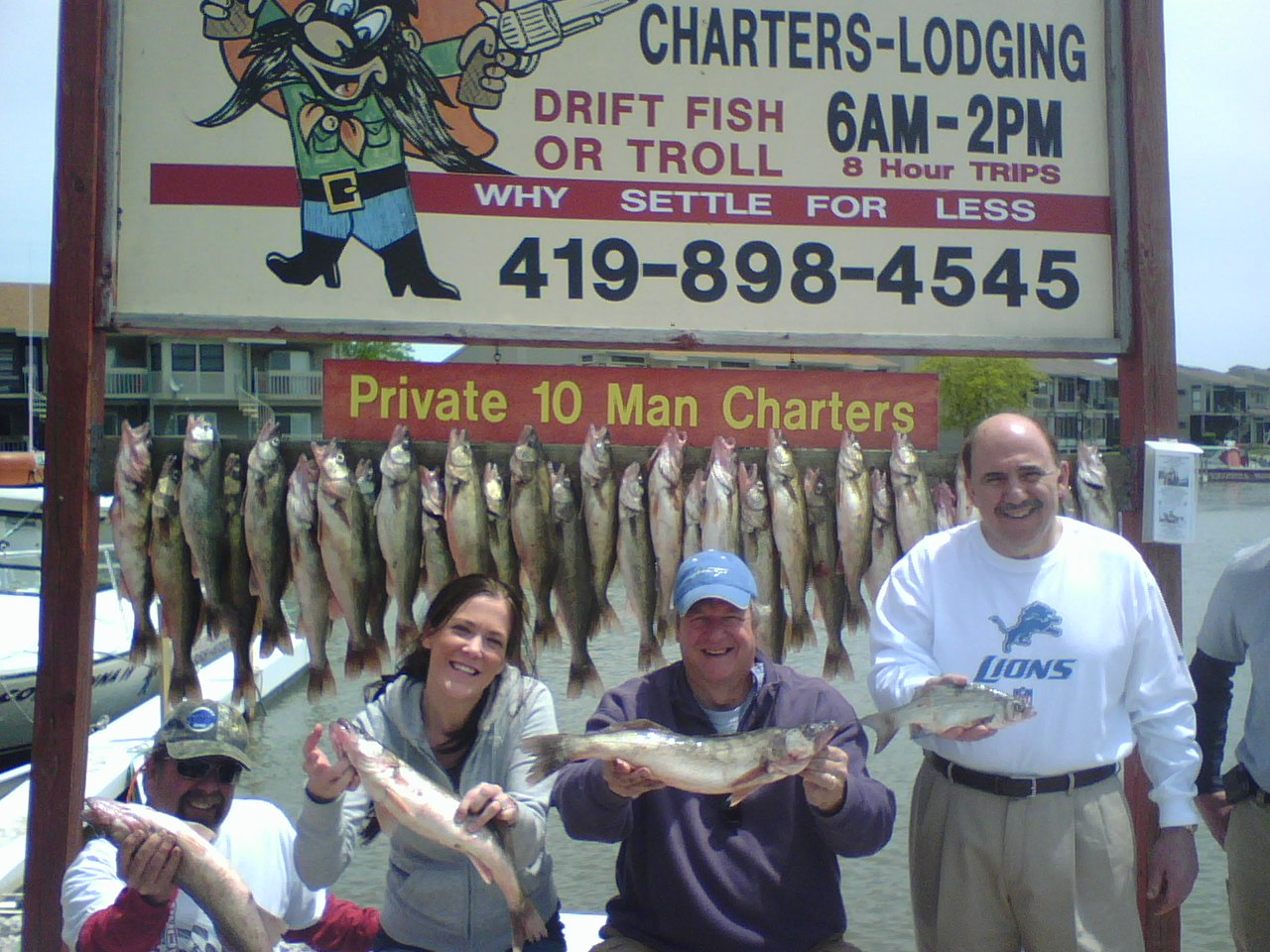 Port Clinton walleye fishing charters