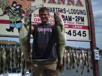 Port Clinton walleye charters