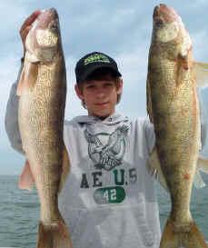 Lake erie fishing reports western basin walleye bass perch for Clinton lake fishing report