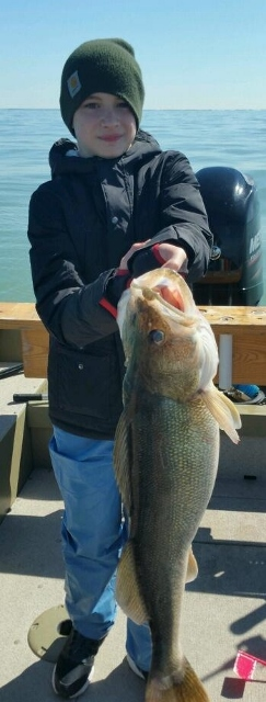 March 30 Spring walleye fishing on Lake Erie is on !!